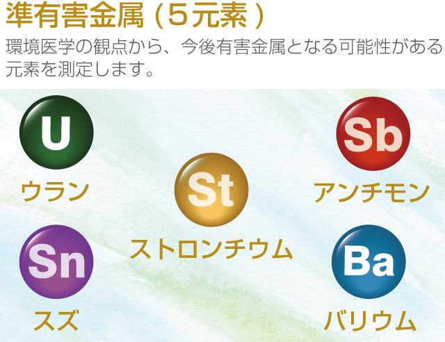 準有害金属(5種類)